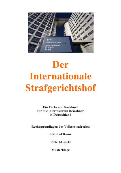 Der Internationale Strafgerichtshof-Werbung