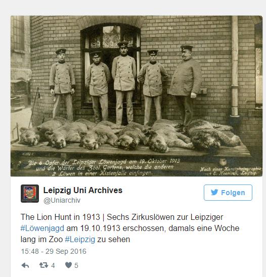 Leipzig Löwen Uni-Archiv