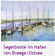 segelboote Breege/Ostsee